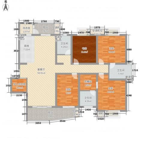 花都艺墅4室1厅3卫0厨209.00㎡户型图