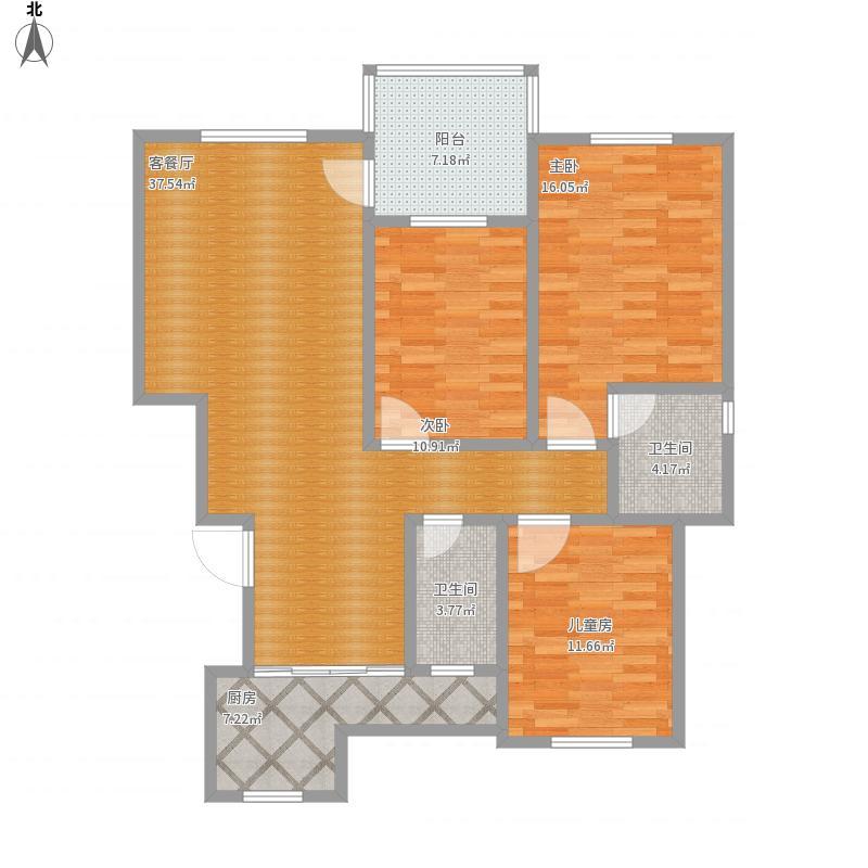 贵溪阳光豪庭11栋2单元302-设计方案