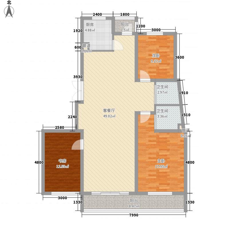 融城时代143.40㎡融城时代户型10室