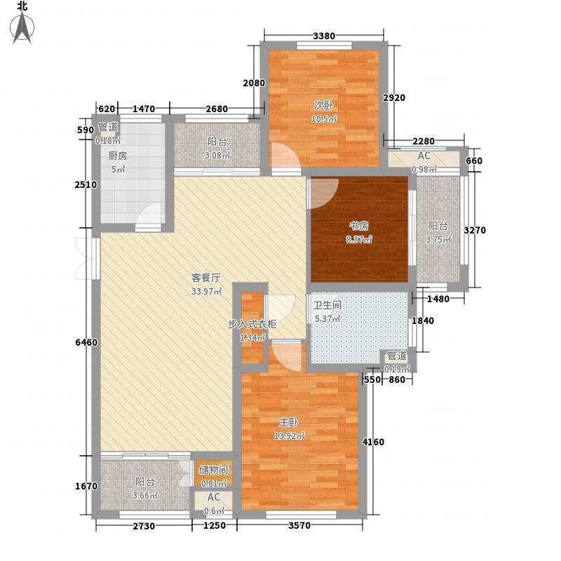 银洲皇家花园133.00㎡银洲皇家花园户型图D3户型3室2厅1卫1厨户型3室2厅1卫1厨