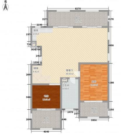 金泰・南燕湾2室1厅1卫0厨188.00㎡户型图