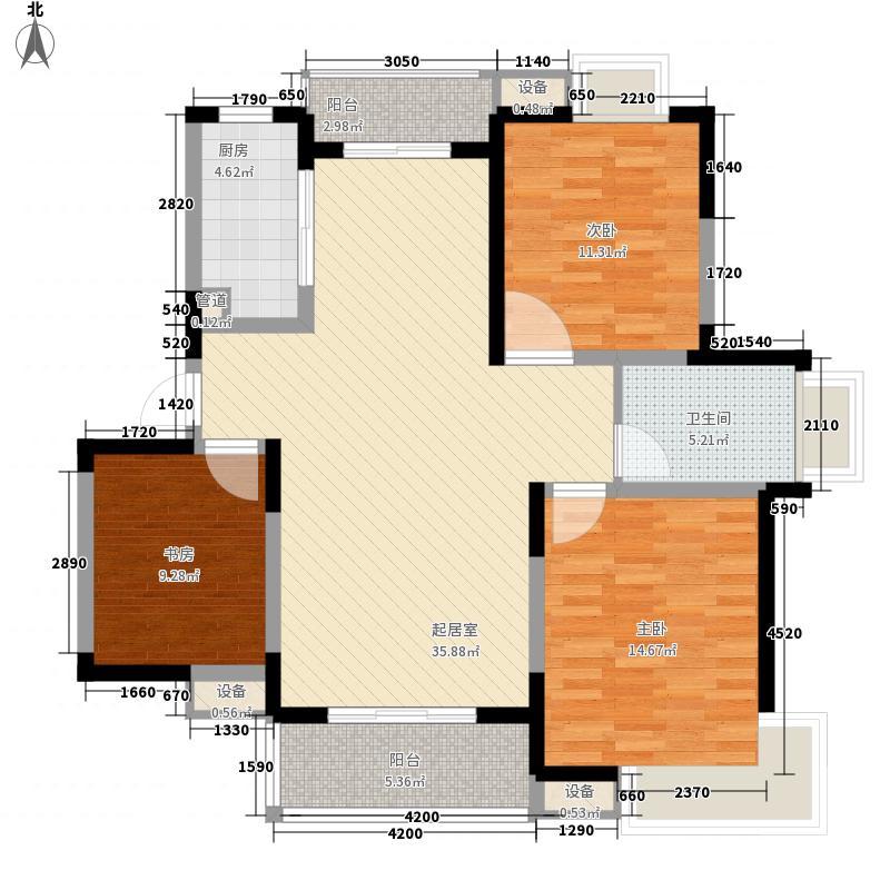国际丽晶城115.63㎡国际丽晶城户型图F型3室2厅2卫1厨户型3室2厅2卫1厨