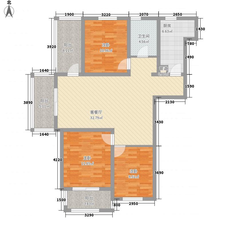 名城燕园115.00㎡名城燕园户型图三F户型3室2厅1卫1厨户型3室2厅1卫1厨