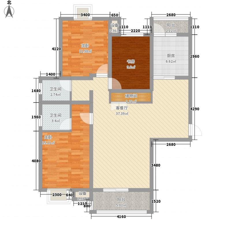 山水悦庭140.87㎡山水悦庭户型图C户型3室2厅2卫1厨户型3室2厅2卫1厨