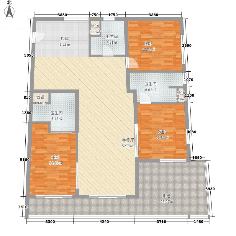 Aloha阿罗哈176.63㎡Aloha阿罗哈户型图海景公寓D1/D2户型图3室2厅2卫1厨户型3室2厅2卫1厨