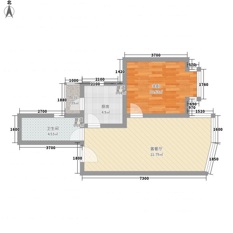 太阳宫小区78.00㎡1室