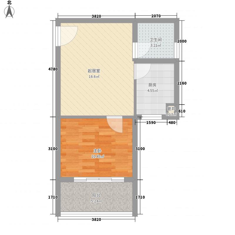 利海・托斯卡纳55.00㎡利海・托斯卡纳户型图minihomeB户型1室1厅1卫户型1室1厅1卫
