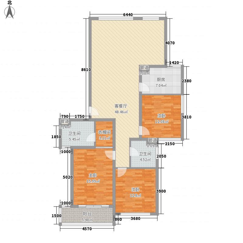 兆丰嘉园二期163.00㎡兆丰嘉园二期户型图户型图3室2厅2卫户型3室2厅2卫