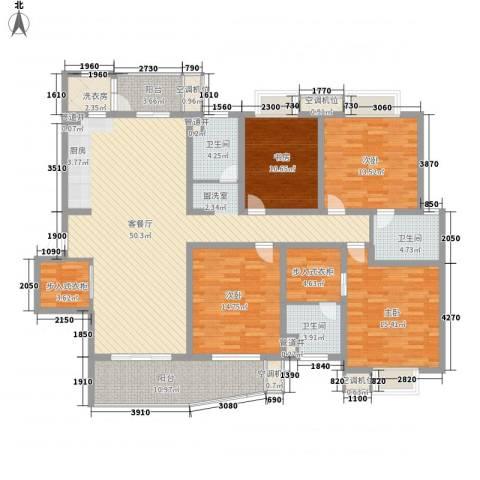 花都艺墅4室1厅3卫0厨211.00㎡户型图
