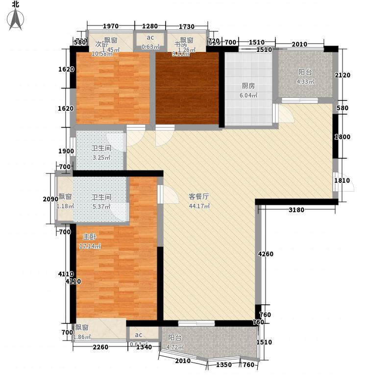 中瑞曼哈顿花园140.19㎡中瑞曼哈顿花园户型图12-A户型2室2厅2卫1厨户型2室2厅2卫1厨