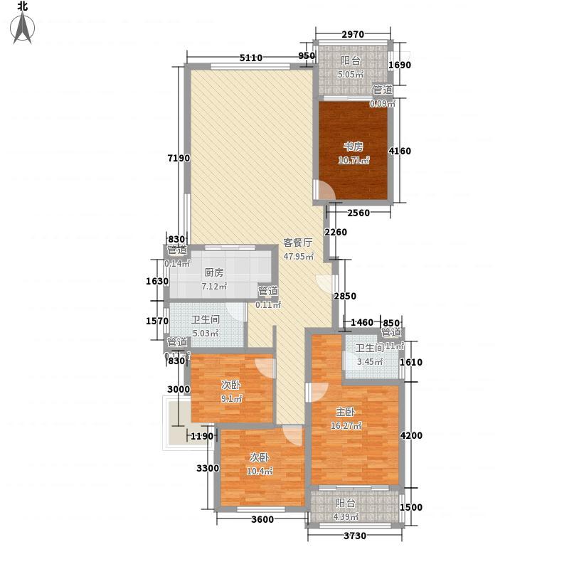 兆丰嘉园二期174.35㎡兆丰嘉园二期户型图174平米户型图(主力户型)4室2厅2卫户型4室2厅2卫
