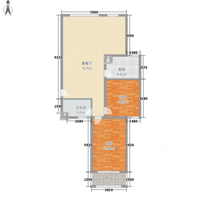 兆丰嘉园二期148.00㎡兆丰嘉园二期户型图户型图2室1厅1卫户型2室1厅1卫