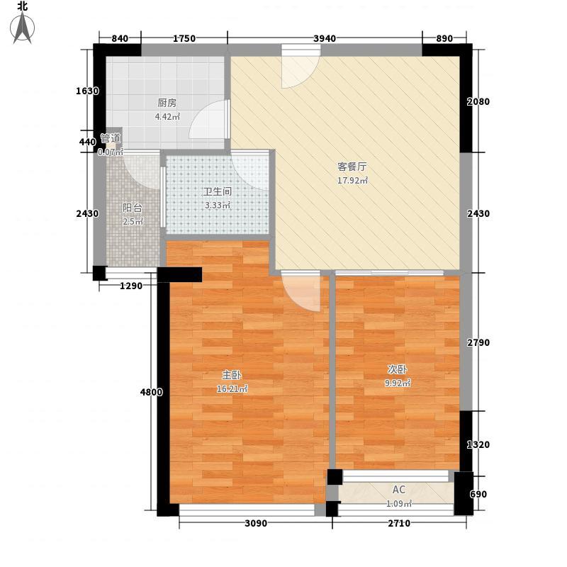健逸天地恒星花园78.00㎡健逸天地恒星花园2室户型2室