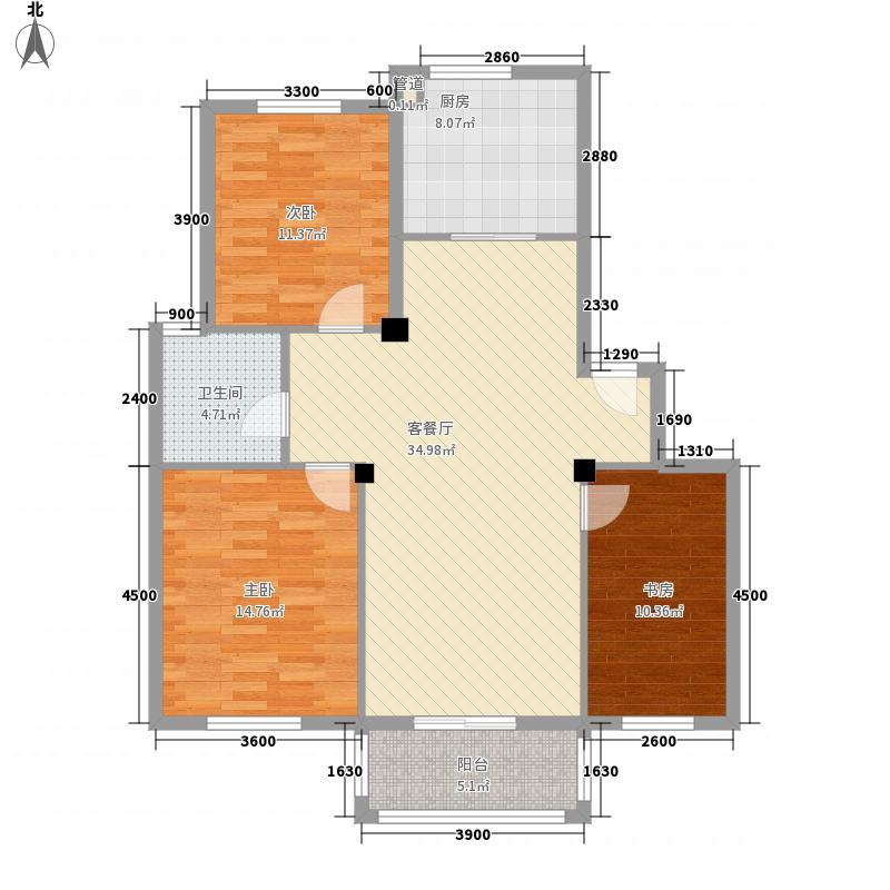 尚品国际45.00㎡尚品国际2室户型2室