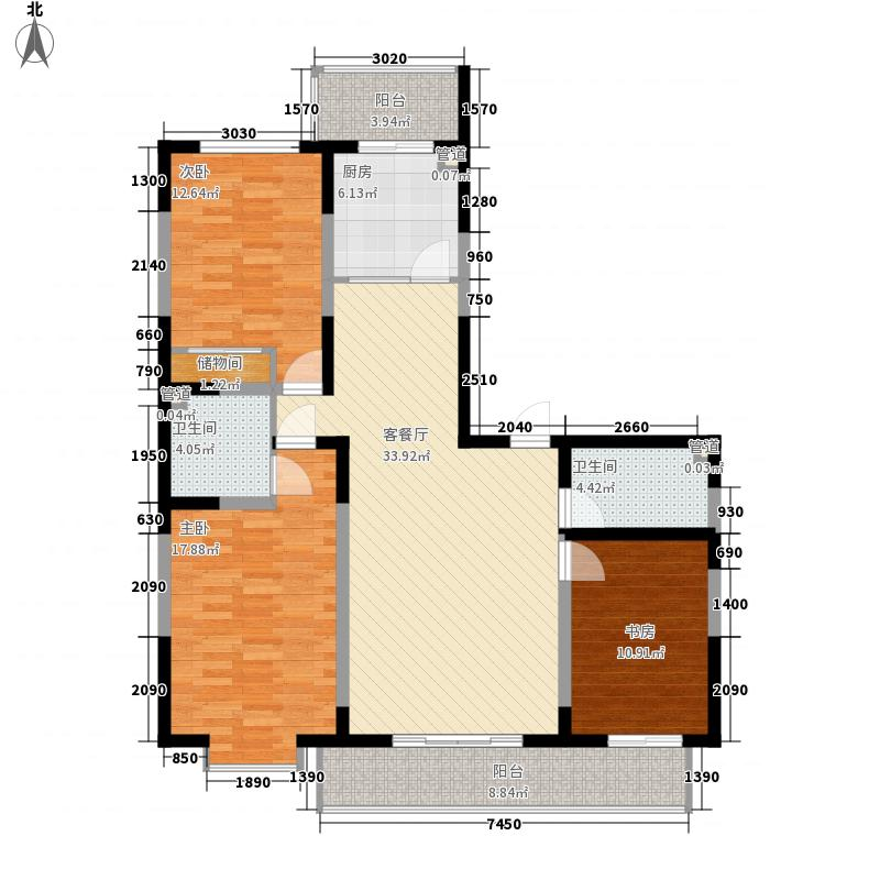 天赐园(和平区)149.84㎡天赐园3#2门2面积14984m户型