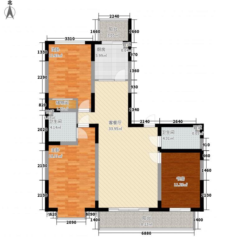天赐园(和平区)149.39㎡天赐园3#2门4面积14939m户型