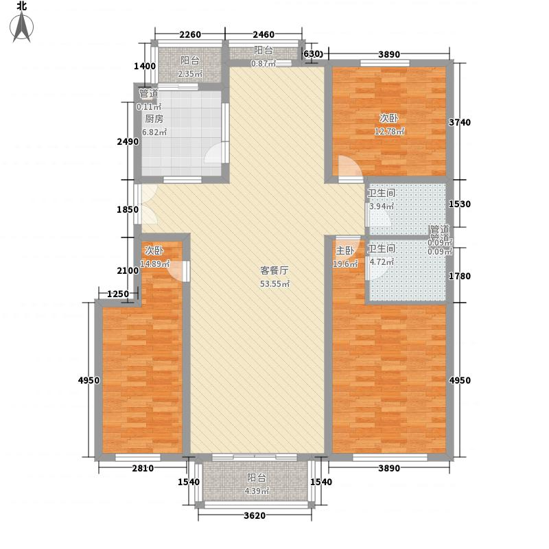 青山南路公安厅宿舍176.00㎡青山南路公安厅宿舍4室户型4室
