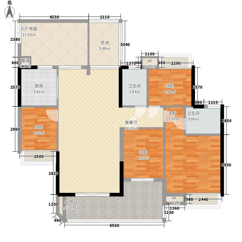 君华香柏广场(白云)132.55㎡君华香柏广场C6面积13255m户型