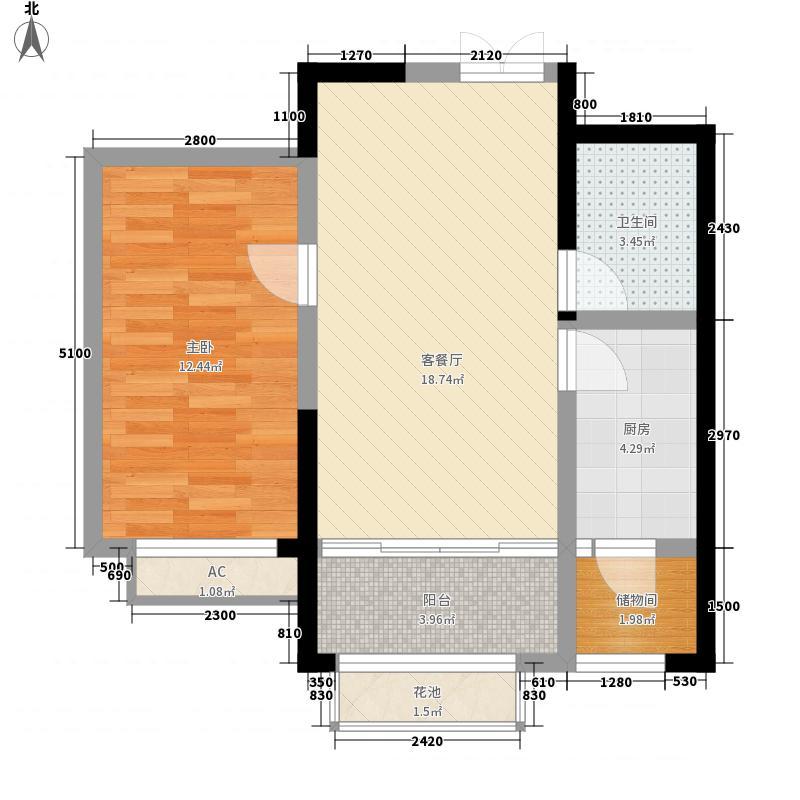 郑家庄生活小区(西站)一室两厅一卫户型1室2厅1卫1厨