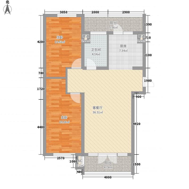 北岸启程北岸启程户型图高层户型使用面积69.60㎡2室1厅1卫1厨户型2室1厅1卫1厨