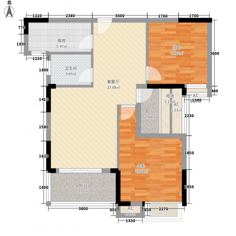 江南新天地二期1、5、6号楼1-F3户型