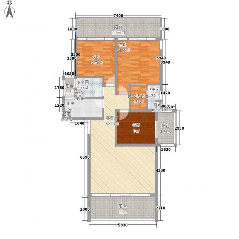 昌达山水天域131.00㎡昌达山水天域户型图户型图3室2厅2卫1厨户型3室2厅2卫1厨