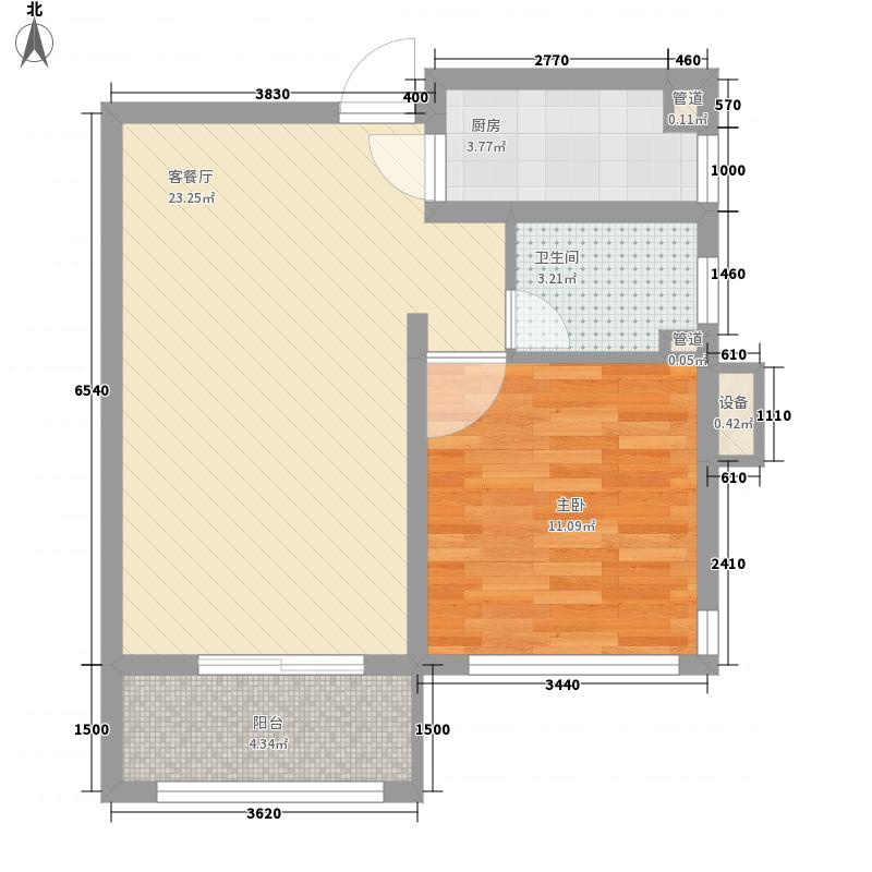芙蓉苑北村 2室 户型图