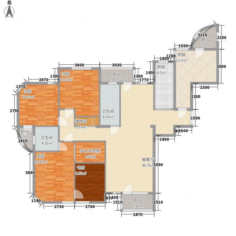 翰林壹品179.44㎡翰林壹品户型图户型4室2厅2卫1厨户型4室2厅2卫1厨