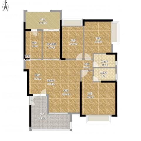 东山一品3室1厅2卫1厨195.00㎡户型图