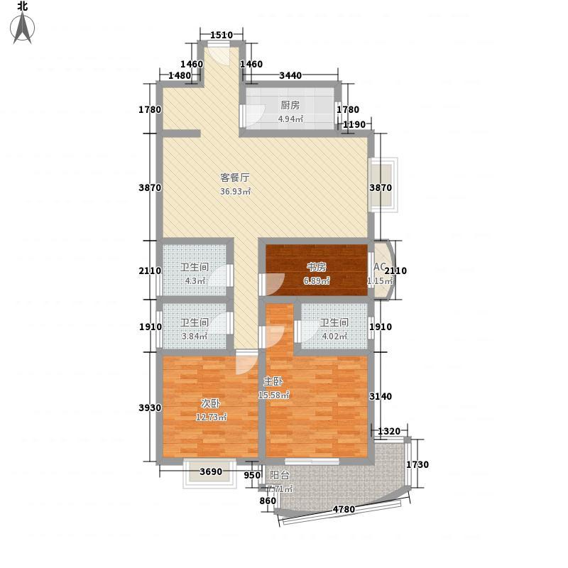 申江新苑143.48㎡3室2厅