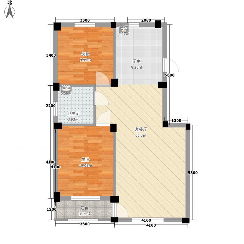 嵩森平安里87.05㎡嵩森平安里户型图5#楼G型生活派88.08户型图2室2厅1卫1厨户型2室2厅1卫1厨