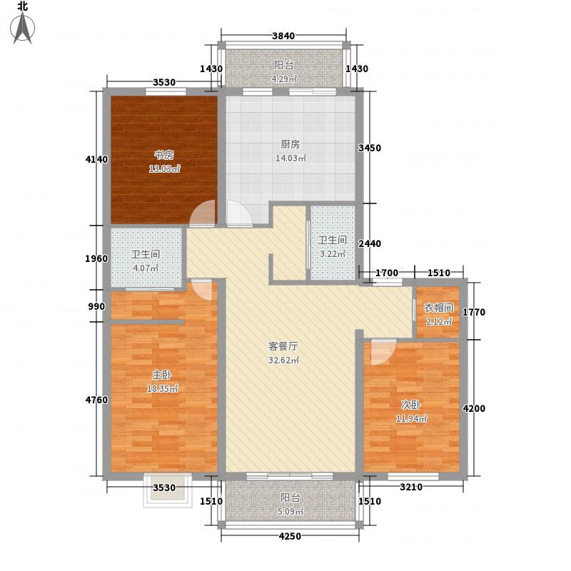 紫金宫庭113.05㎡紫金宫庭户型图J户型3室1厅2卫1厨户型3室1厅2卫1厨