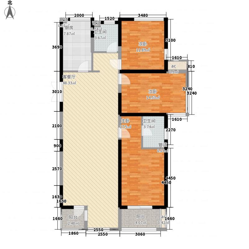 盛世天骄159.80㎡盛世天骄户型图12号楼一单元A户型爵士经典159.8㎡3室2厅2卫户型3室2厅2卫