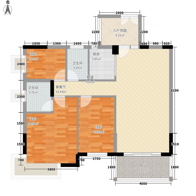 金色华庭二期金色华庭二期3室户型3室