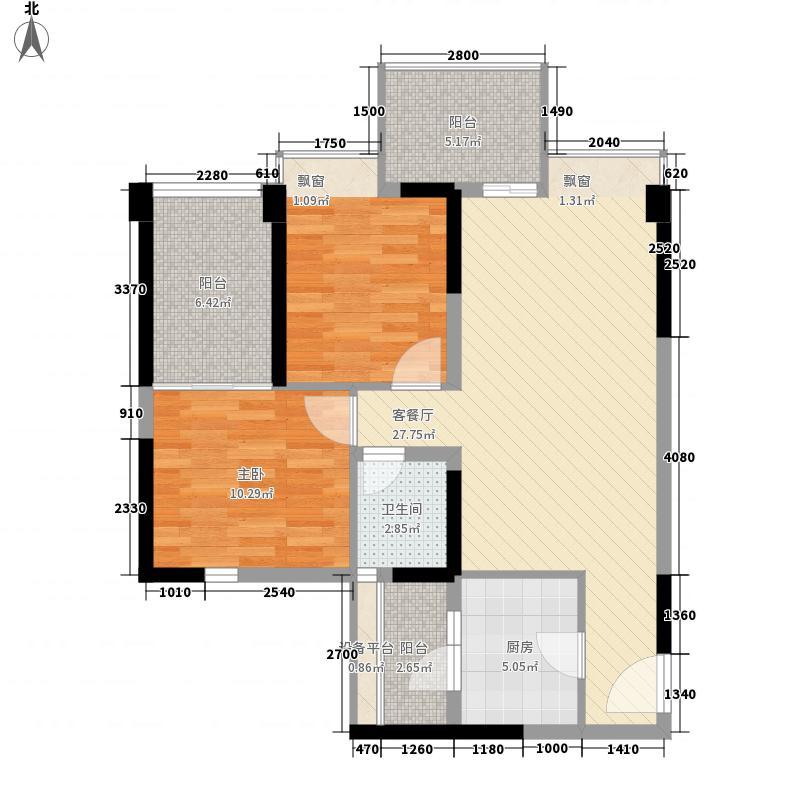 锦江城市花园三期81.00㎡锦江城市花园三期户型图户型图2室2厅1卫1厨户型2室2厅1卫1厨