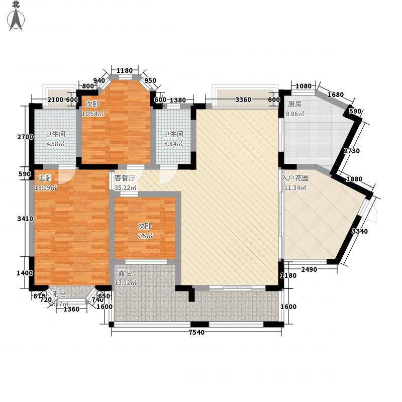 黔城碧水人家128.65㎡黔城碧水人家户型图E户型3室2厅2卫1厨户型3室2厅2卫1厨