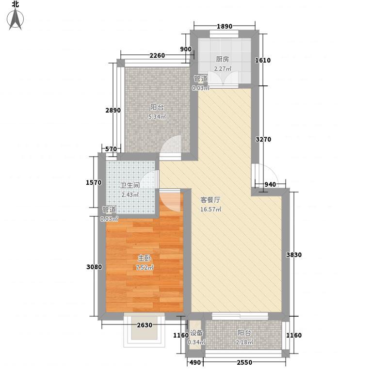 岳西新村55.00㎡岳西新村2室户型2室