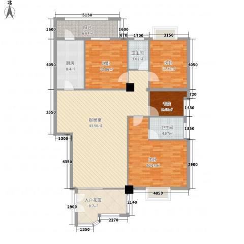 御之苑4室0厅2卫1厨174.00㎡户型图