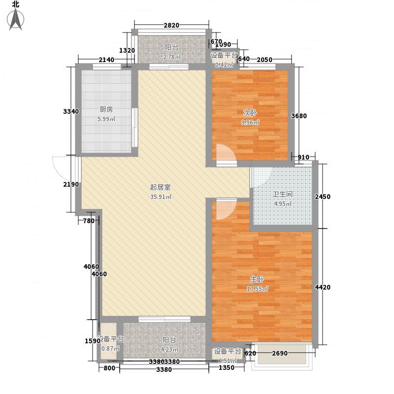 西上海・华府天地121.00㎡西上海・华府天地户型图D户型2室2厅1卫户型2室2厅1卫