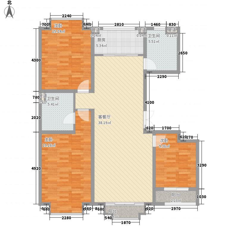 国富华庭国富华庭户型图2#A23室2厅2卫1厨户型3室2厅2卫1厨