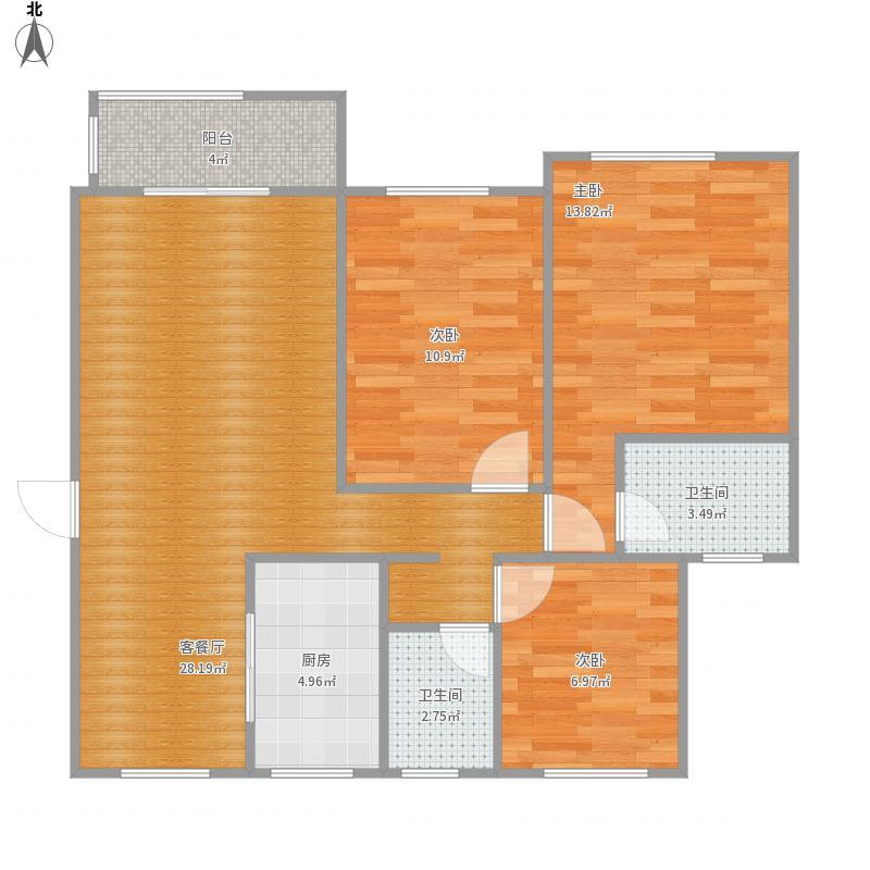 上海-嘉三房-设计方案