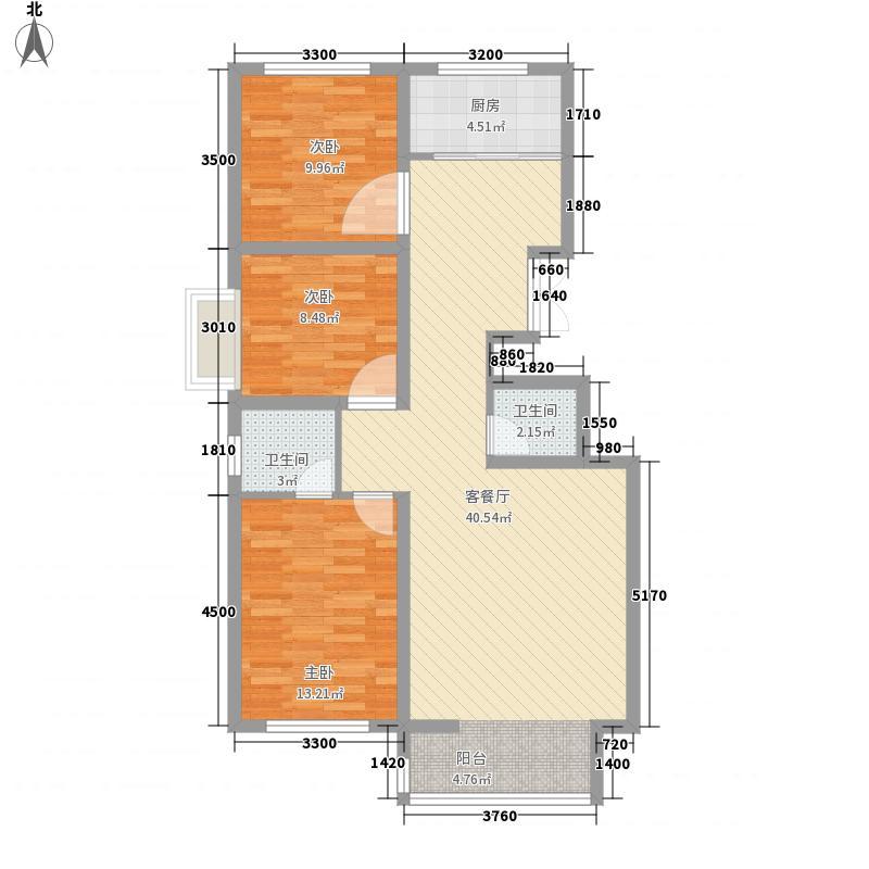三四小区户型图3室2厅1 3室2厅2卫1厨