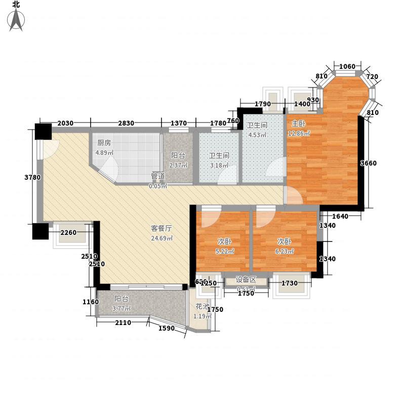 嘉洲豪园二期深圳嘉洲豪园户型图3户型10室