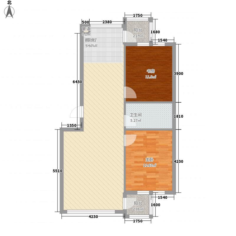 阳光生态城89.87㎡阳光生态城户型图122室2厅1卫1厨户型2室2厅1卫1厨