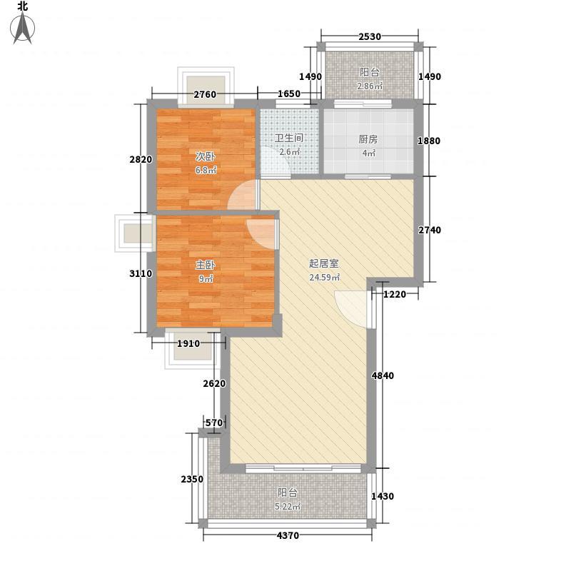 风采轩76.47㎡风采轩户型10室