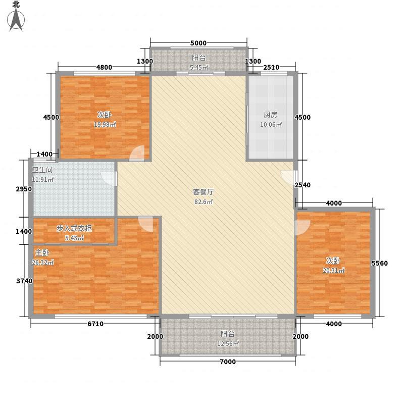 大有恬园大有恬园3室户型10室