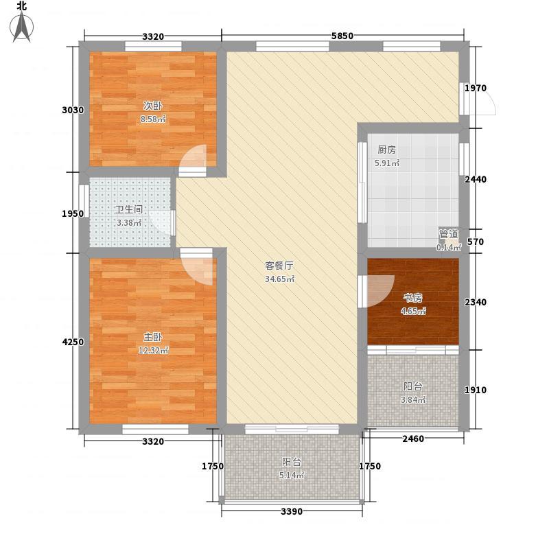 名都豪庭114.00㎡名都豪庭户型图9#楼标准层06室3室2厅1卫1厨户型3室2厅1卫1厨