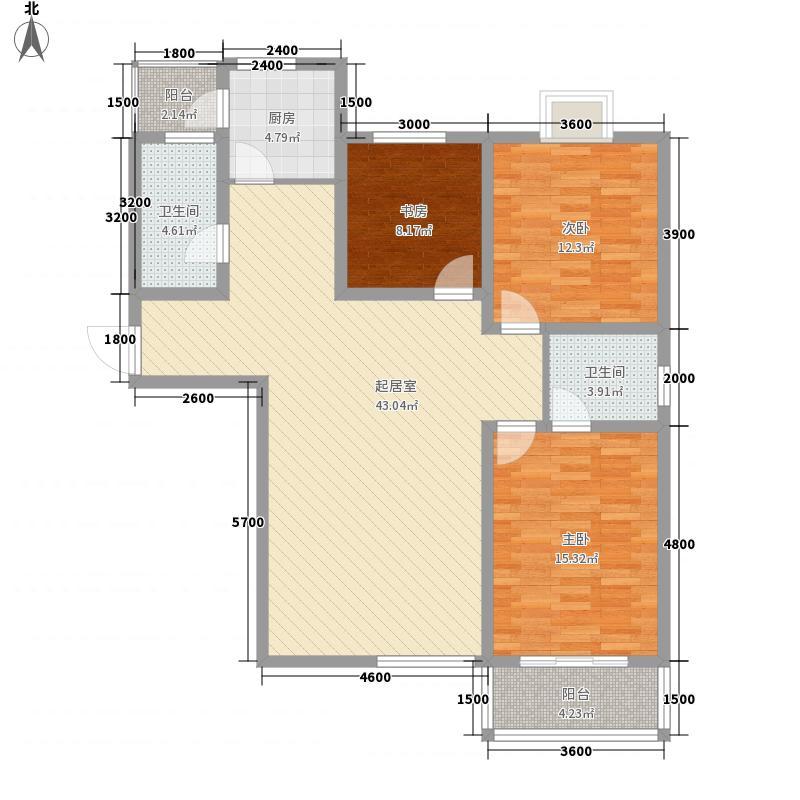丽都香颂134.94㎡丽都香颂户型图E3室2厅2卫户型3室2厅2卫