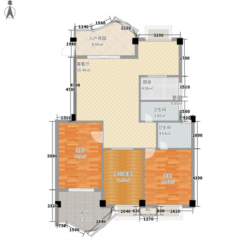 世纪景城119.50㎡世纪景城户型图3室2厅2卫1厨户型10室