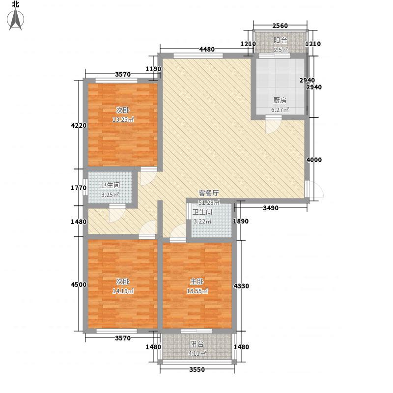 永大颐和园153.00㎡永大颐和园3室户型3室